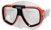 Маска для плавания Intex 55974 красная - фото 1
