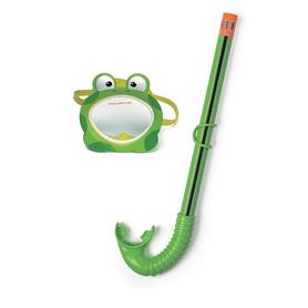Набор для плавания (маска + трубка) Intex 55940 зеленый
