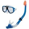Набор для плавания (маска + трубка) Intex 55948 синий - фото 1