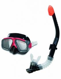 Набор для плавания (маска + трубка) Intex 55949 черный
