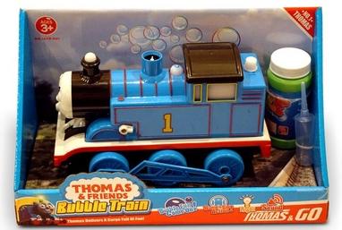 Паровозик Thomas Bubble Train по производству мыльных пузырей
