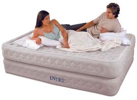 Фото 4 к товару Кровать надувная односпальная Intex с 66964 (99х191х51)