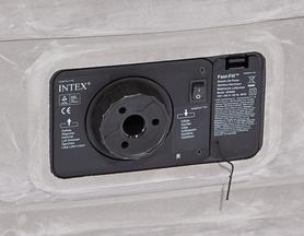 Фото 2 к товару Кровать надувная полуторная Intex 67768 (137х191х33 см)