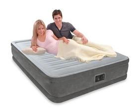 Фото 3 к товару Кровать надувная двуспальная Intex 67770 (152х203х33 см)