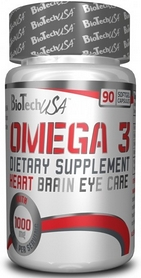 Фото 1 к товару Комплекс жирных кислот BioTech USA Natural Omega 3 (90 капсул)