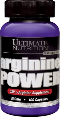Аминокислоты Ultimate Nutrition Arginine power (100 капсул)