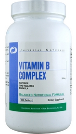 Комплекс витаминов Universal Nutrition Vitamin B Complex (100 таблеток)