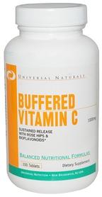Фото 1 к товару Комплекс витаминов Universal Nutrition Vitamin C Formula (100 таблеток)