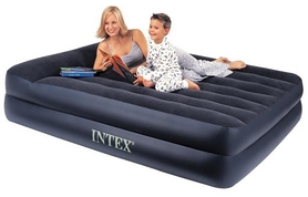 Фото 2 к товару Кровать надувная двуспальная Intex 66720 (157х203х47 см)