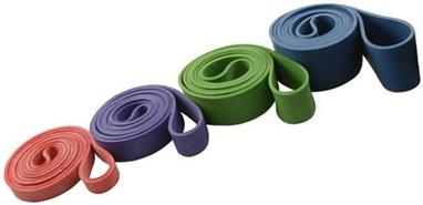 Тренажер - резиновая петля Rising 44 мм (50 - 125 кг) зеленая