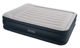 Фото 1 к товару Кровать надувная двуспальная Intex 67738 (203х157х48 см)
