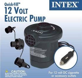 Фото 2 к товару Насос электрический автомобильный Intex 66626