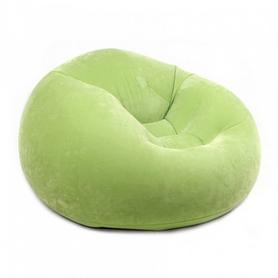 Кресло надувное Intex 68569 (107х104х69 см) зеленое