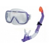 Набор для плавания (маска + трубка) Intex 55950 фиолетовый - фото 1
