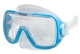 Маска для плавания Intex 55976 синяя