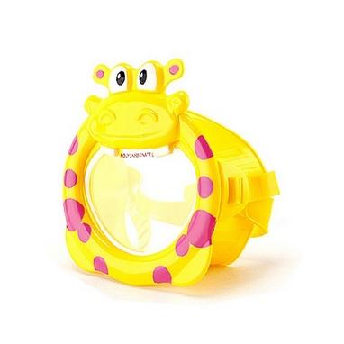 Маска для плавания детская Intex 55910 желтая