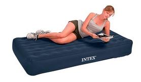 Фото 2 к товару Кровать надувная односпальная Intex 68724 (102х191х23 см)