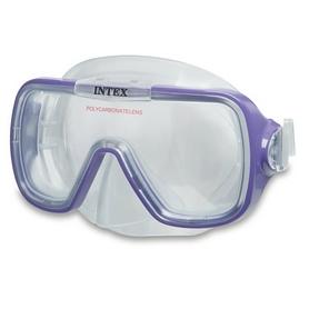 Маска для плавания Intex 55976 фиолетовая