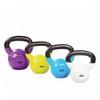 Гиря виниловая Rising 12 кг фиолетовая - фото 1