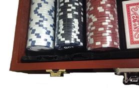 Фото 4 к товару Набор игровой для покера, 300 фишек - уцененный*