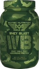 Протеин Scitec Nutrition MA Whey Blast 900g