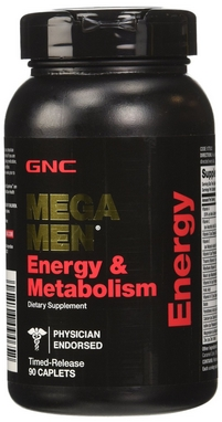 Комплекс витаминов и минералов Form Labs GNC Mega Men Energy & Metabolism (90 капсул)