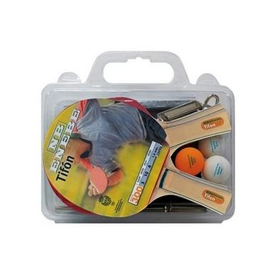 Набор для настольного тенниса (4 ракетки, 3 мяча, сетка, крепеж) Enebe Tifon