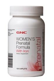 Фото 2 к товару Комплекс витаминов и минералов Form Labs GNC Prenatal Formula (120 капсул)