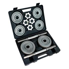 Фото 1 к товару Гантели наборные в коробке Stein Home Dumbbell Hammer Set Box 20 кг