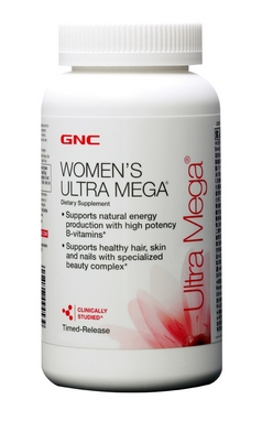 Комплекс витаминов и минералов Form Labs GNC Women's Ultra Mega (28 капсул)