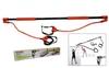 Палка гимнастическая для фитнеса с эспандером Pro Supra Body Shaper Stick F-933C - фото 1