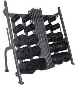 Подставка (стойка) для фитнес штанг Diadora RK5401C