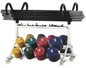 Фото 1 к товару Подставка (стойка) для фитнес штанг Diadora RK4060E