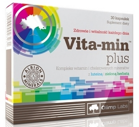 Фото 1 к товару Комплекс витаминов и минералов Olimp Nutrition Vita-min Plus (30 капсул)