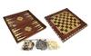 Набор настольных игр 3 в 1 (шахматы, шашки , нарды) W5001D - фото 1