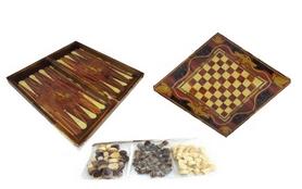 Набор настольных игр 3 в 1 (шахматы, шашки , нарды) W5001E