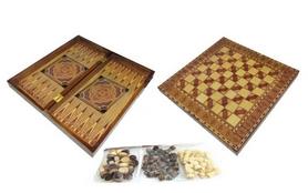 Набор настольных игр 3 в 1 (шахматы, шашки , нарды) W5001F