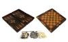 Набор настольных игр 3 в 1 (шахматы, шашки , нарды) W5001H - фото 1
