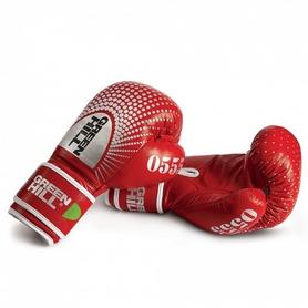 Перчатки боксерские Green Hill 0555 красные
