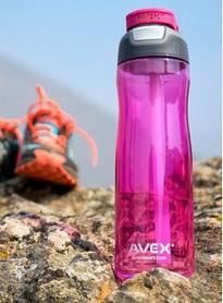 Фото 5 к товару Бутылка спортивная Avex 71883 Wells 750 мл розовая