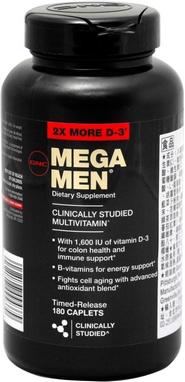 Комплекс витаминов и минералов Form Labs GNC MEGA MEN (180 капсул)