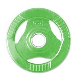 Распродажа*! Диск обрезиненный 5 кг ZLT цветной - 30 мм