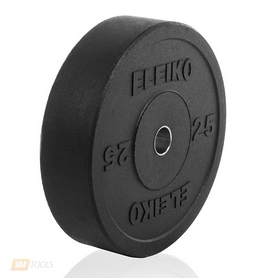Фото 1 к товару Диск обрезиненный олимпийский 25 кг Eleiko - 51 мм