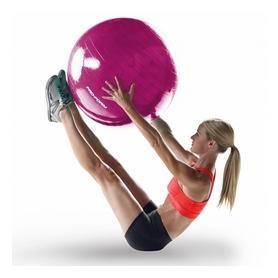 Фото 3 к товару Мяч для фитнеса (фитбол) ProForm 65 см розовый