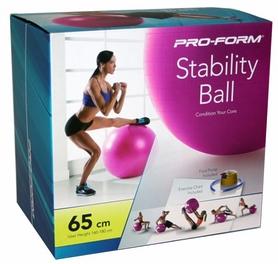 Фото 4 к товару Мяч для фитнеса (фитбол) ProForm 65 см розовый