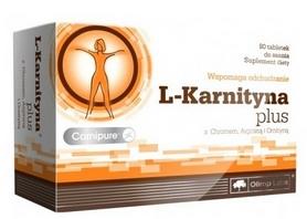 Жиросжигатель Olimp Nutrition L-Carnitine plus (80 таблеток)