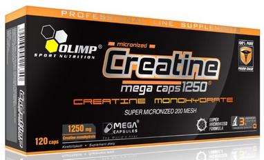 Креатин Olimp Nutrition Creatine Mega (120 капсул)