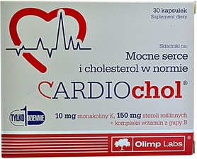 Комплекс витаминов Olimp Nutrition Cardiochol (30 капсул)