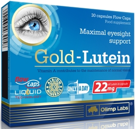 Комплекс витаминов для зрения Olimp Nutrition Gold Lutein (30 капсул)