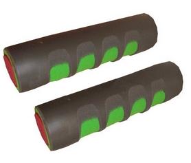 Гантели для фитнеса неопреновые ZLT 2 x 0,75 кг черные + подарок